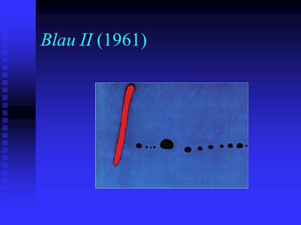 Blau II (1961)