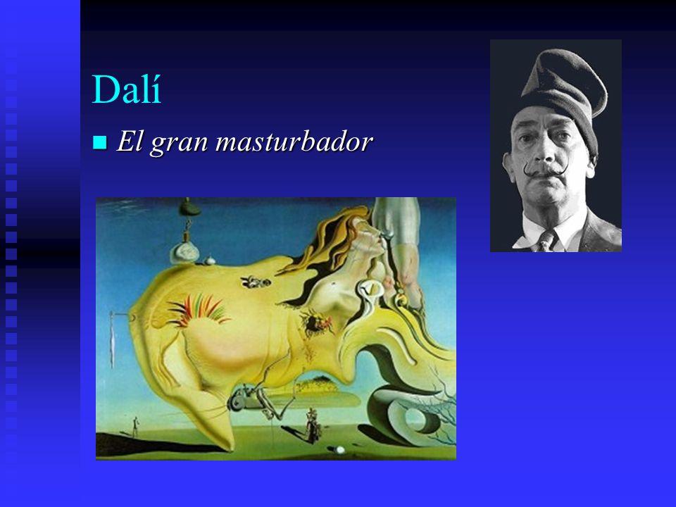 Dalí El gran masturbador El gran masturbador