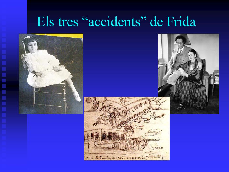 Els tres accidents de Frida