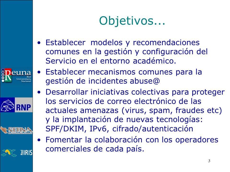 3 Establecer modelos y recomendaciones comunes en la gestión y configuración del Servicio en el entorno académico.