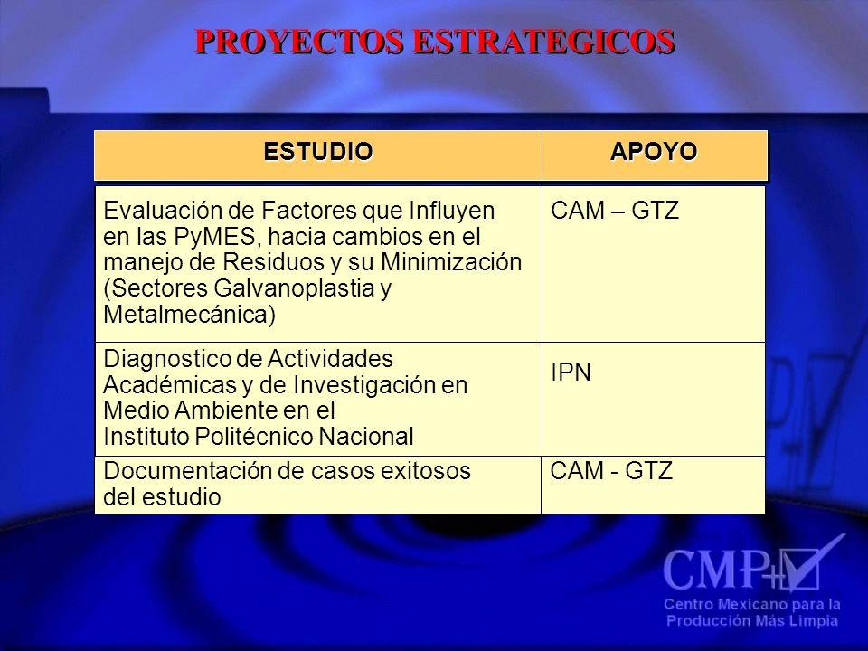 PROYECTOS ESTRATEGICOS ESTUDIOESTUDIOAPOYOAPOYO Estudio de prácticas de uso y conservación del Agua en la Zona Metropolitana del Valle de México USAID