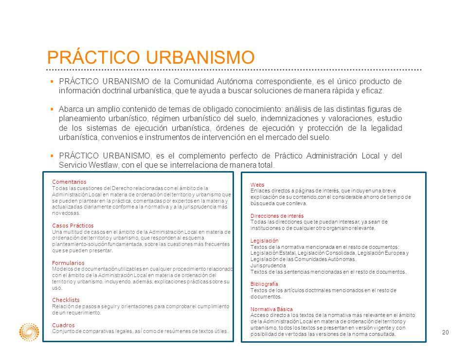 Comentarios Todas las cuestiones del Derecho relacionadas con el ámbito de la Administración Local en materia de ordenación del territorio y urbanismo