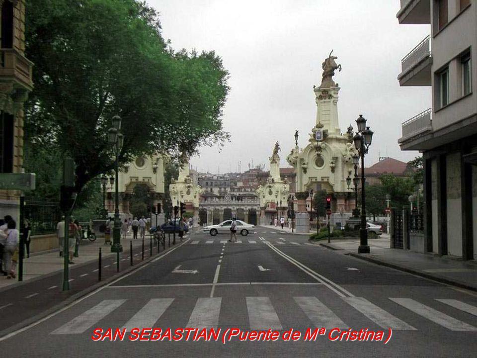 SAN SEBASTIAN (Puente de Mª Cristina )