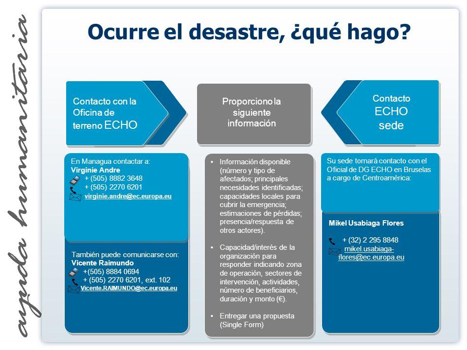 También puede comunicarse con: Vicente Raimundo +(505) 8884 0694 + (505) 2270 6201, ext.