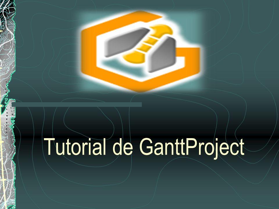 Tutorial de GanttProject