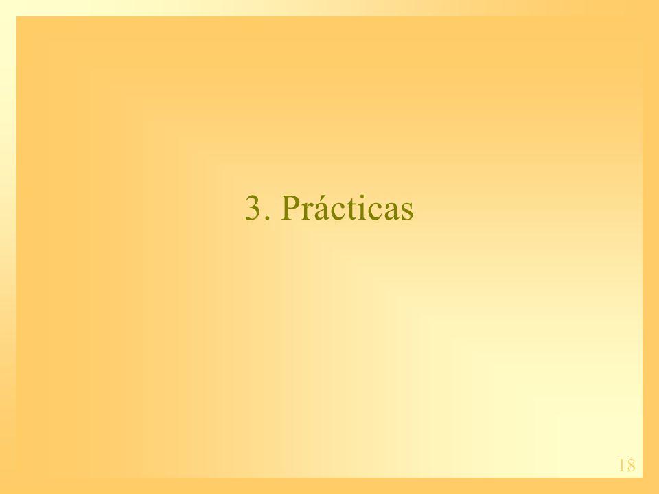 18 3. Prácticas