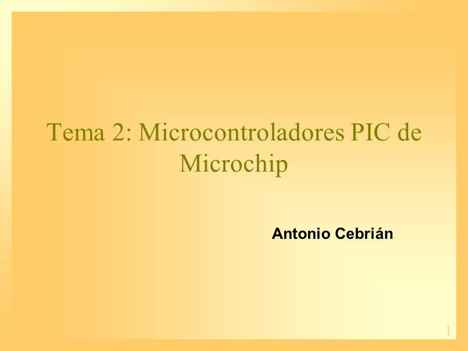 2 Contenidos 1.Historia de los PICs 2.Características de los PICs 3.Gamas de los PICs