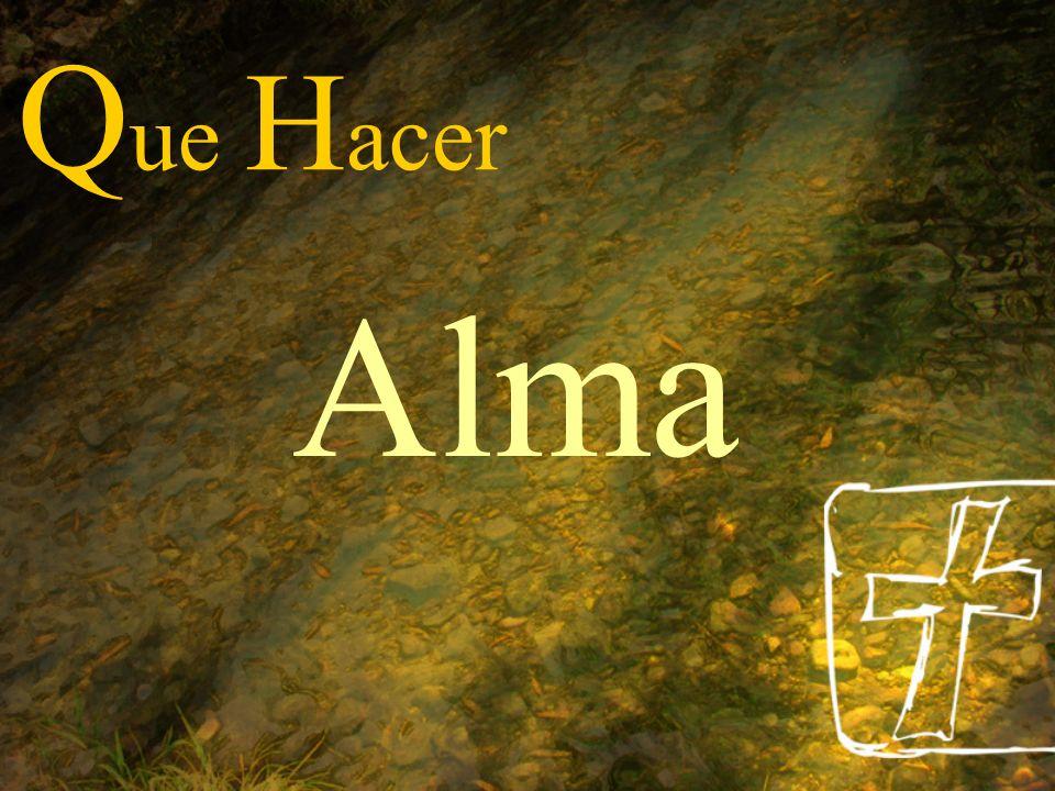 Q ue H acer Alma