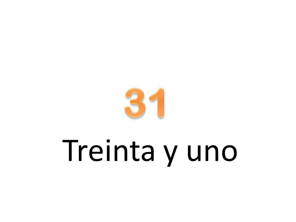 Treinta y uno