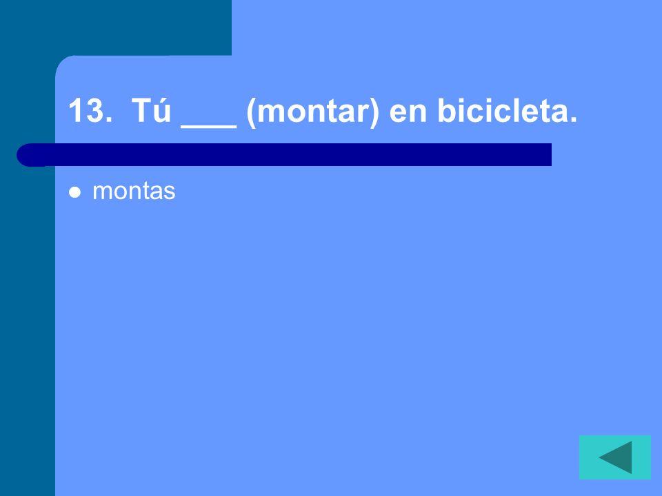 12. A Miguel no ___ gusta estudiar geometría. (Miguel doesnt like to study geometry.) le