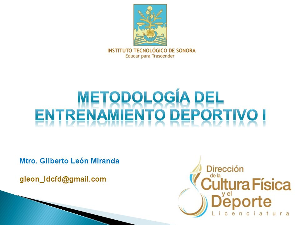 Mtro. Gilberto León Miranda gleon_ldcfd@gmail.com
