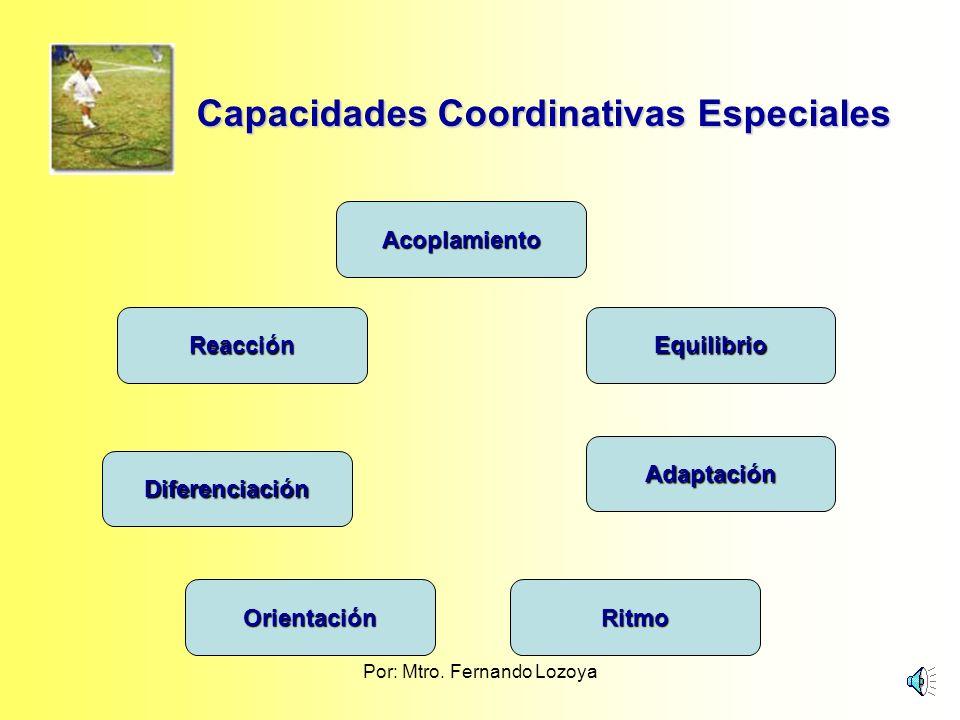 Por: Mtro. Fernando Lozoya Clasificación de las capacidades y habilidades motoras. Pedagogía del Deporte