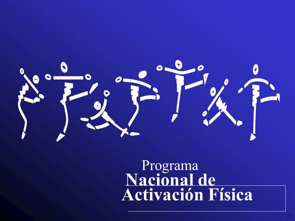 31 Programa Nacional de Activación Física