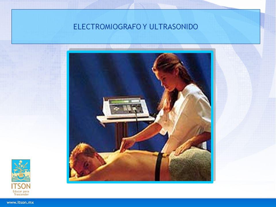 ELECTROMIOGRAFO Y ULTRASONIDO
