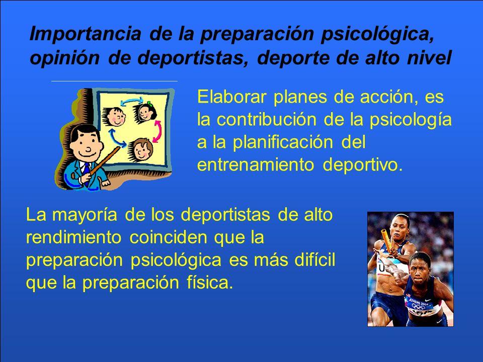 PSICOLOGÍA DEL DEPORTE La psicología deportiva se empieza a imponer como elemento de utilidad en el entrenamiento deportivo en los años 70.
