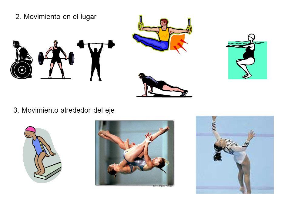 2. Movimiento en el lugar 3. Movimiento alrededor del eje