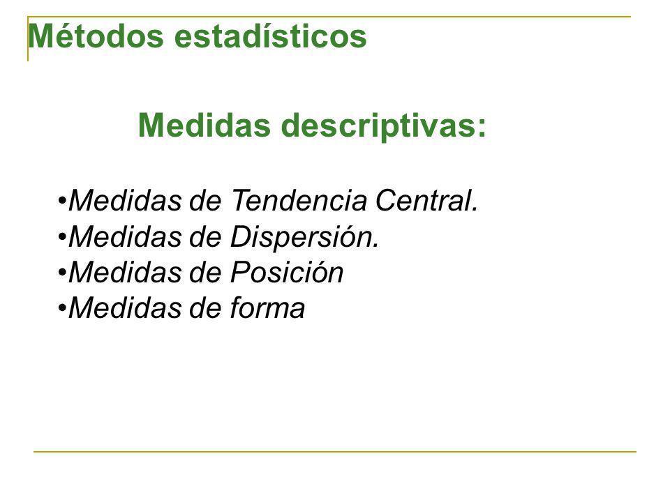 Medidas de Tendencia Central Media Mediana Moda