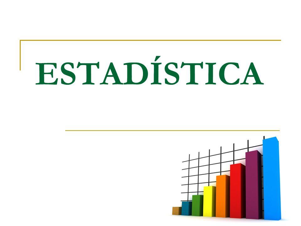 Al terminar esta clase deberán saber: ¿Que es la estadística.
