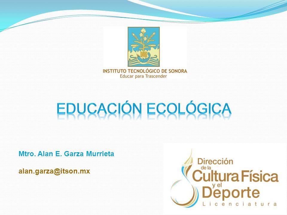 Presentación Estimado estudiante: Bienvenido al curso de Educación Ecológica, del módulo de entrenamiento deportivo, tetramestre IV de la Licenciatura en Dirección de la Cultura Física y el Deporte.