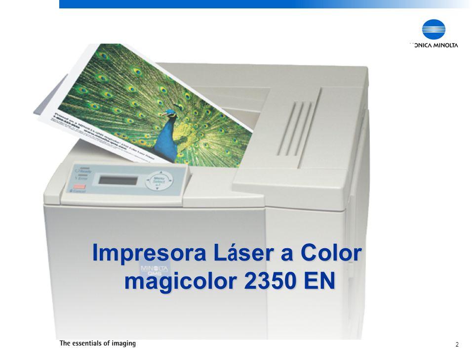 2 Impresora L á ser a Color magicolor 2350 EN