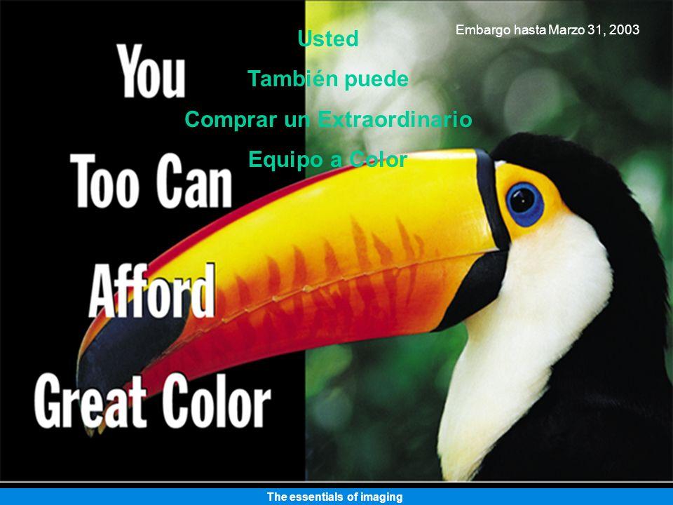 The essentials of imaging Impresora Láser a Color magicolor 2300W Usted también puede tener una extraordinaria impresora a color.