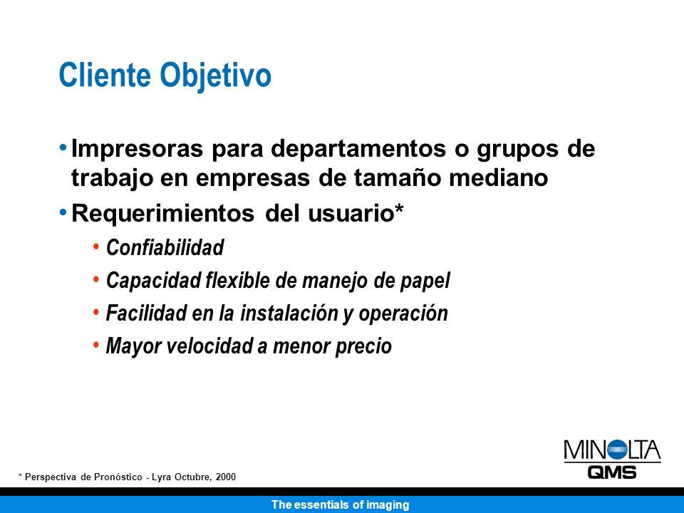 The essentials of imaging Remoción de la Bandeja