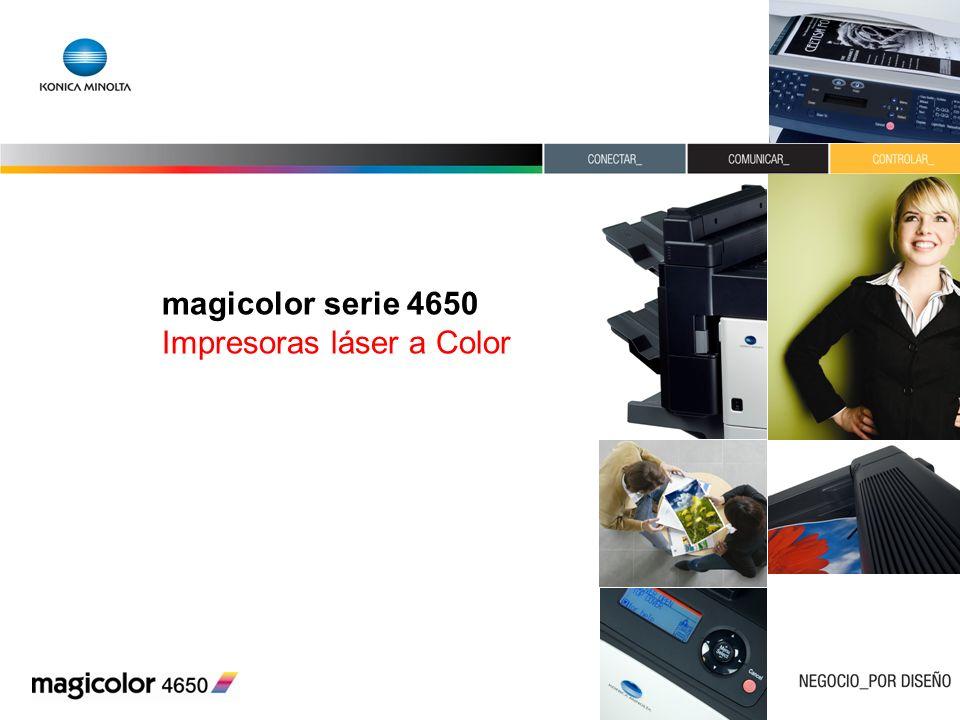 magicolor serie 4650 Impresoras láser a Color