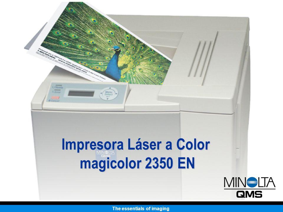 The essentials of imaging Impresora Láser a Color magicolor 2350 EN Impresión sencilla a todo Color.
