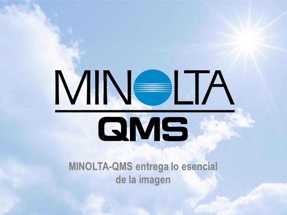 Lo esencial de las Imágenes MINOLTA-QMS entrega lo esencial de la imagen