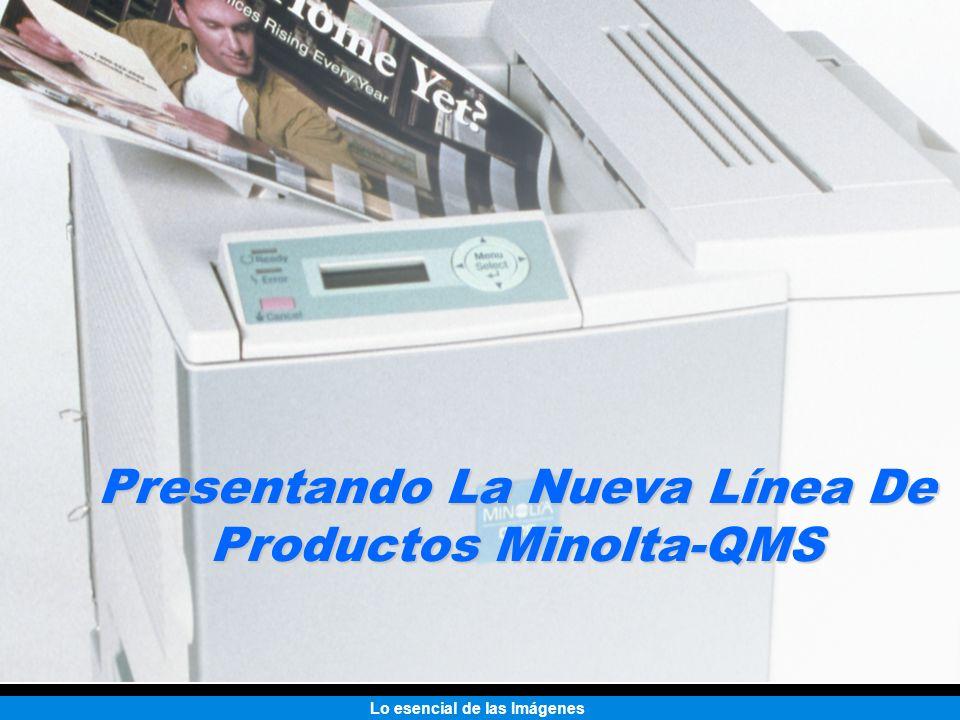 Lo esencial de las Imágenes Presentando La Nueva Línea De Productos Minolta-QMS
