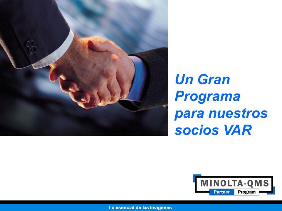 Lo esencial de las Imágenes Un Gran Programa para nuestros socios VAR