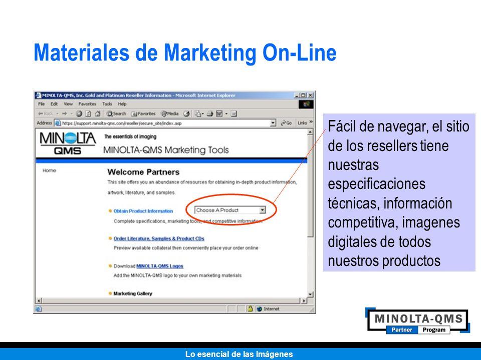 Lo esencial de las Imágenes Materiales de Marketing On-Line Fácil de navegar, el sitio de los resellers tiene nuestras especificaciones técnicas, info