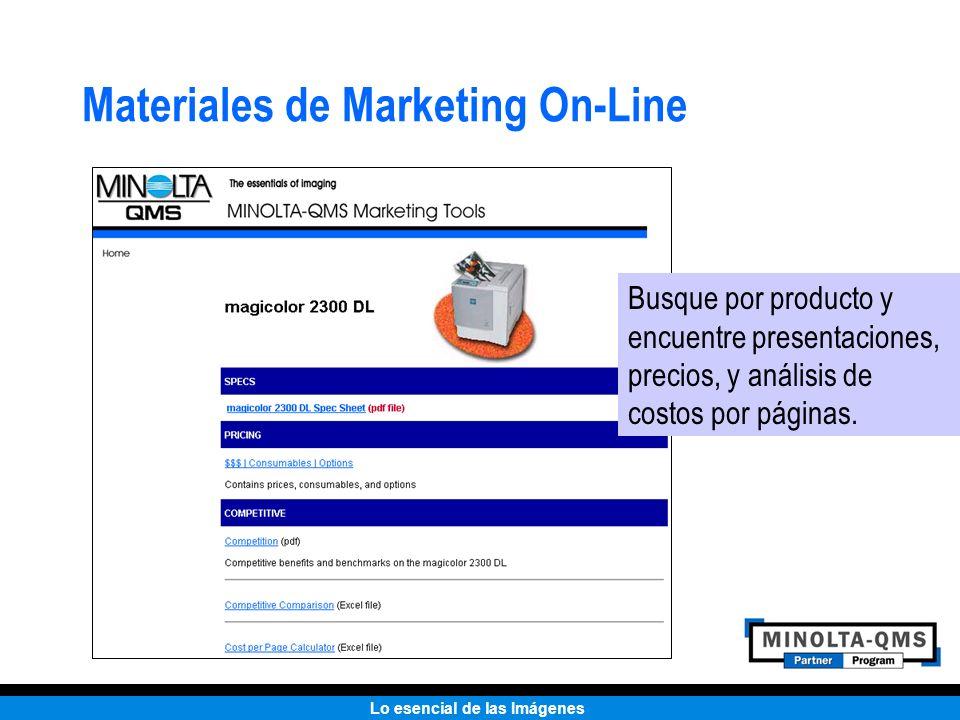 Lo esencial de las Imágenes Materiales de Marketing On-Line Busque por producto y encuentre presentaciones, precios, y análisis de costos por páginas.