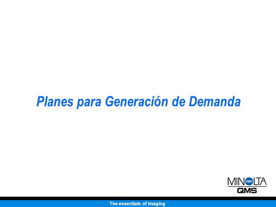 The essentials of imaging Planes para Generación de Demanda