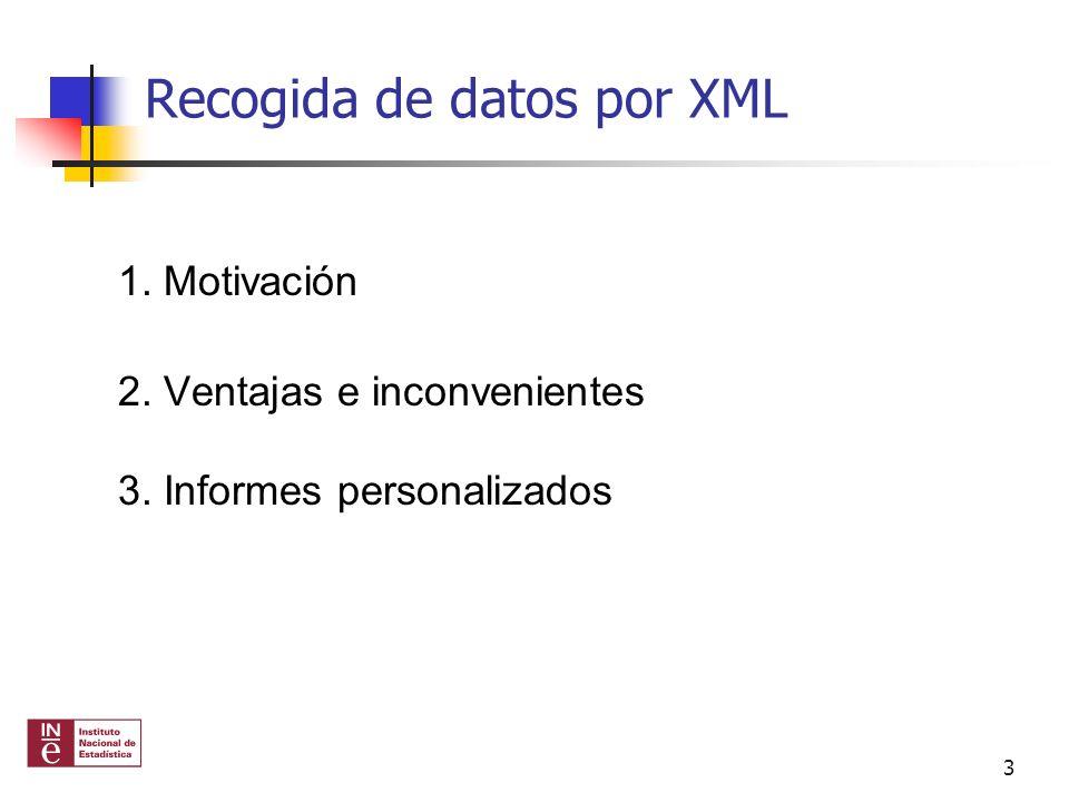 Recogida por XML.