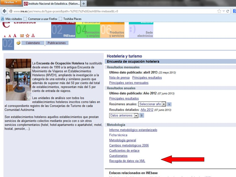 Conclusiones Recogida de datos con XML Reglamento 692/2011 GSBPM Reducir la carga al informante Calidad coherencia y comparabi- lidad Ahorro de costes Feed- back con usuarios Validación, depuración e imputación Oportu- nidad Código de Buenas Prácticas