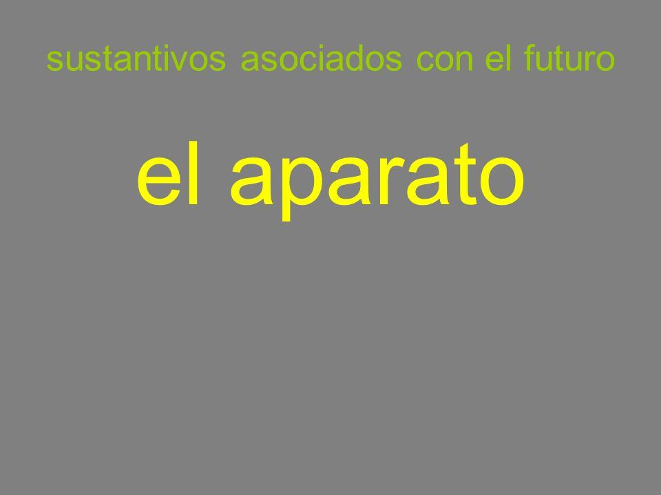 sustantivos asociados con el futuro el aparato