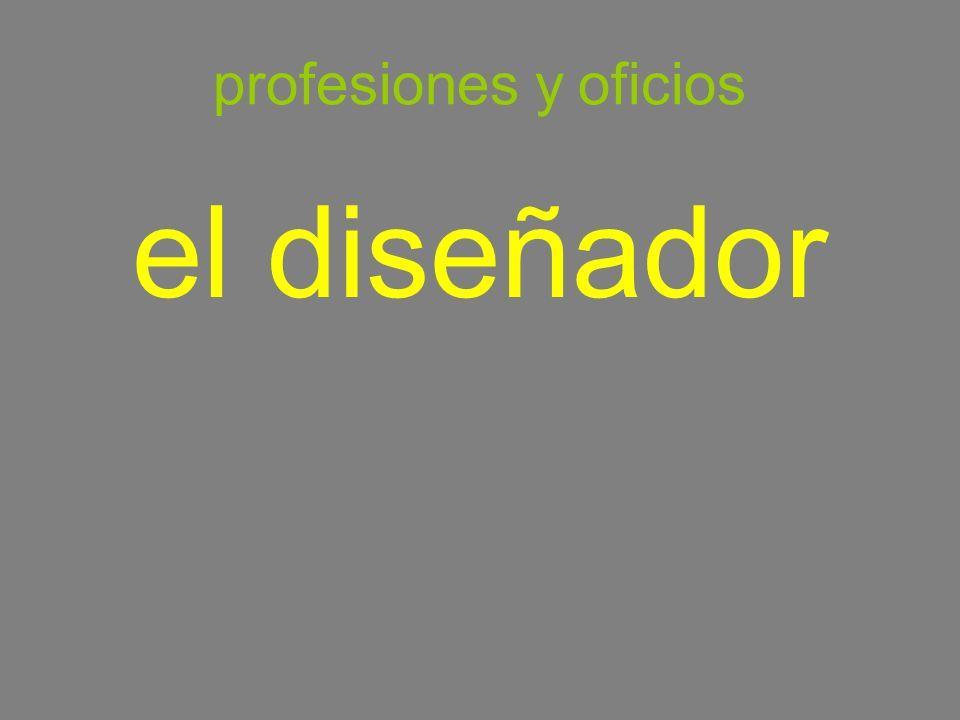 profesiones y oficios el diseñador