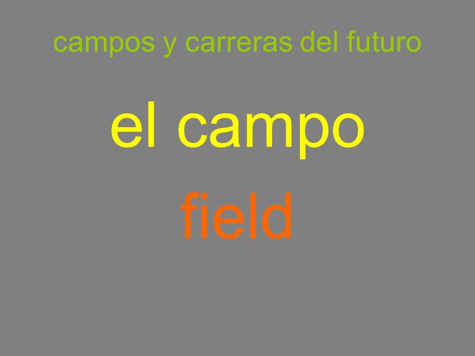 campos y carreras del futuro el campo field