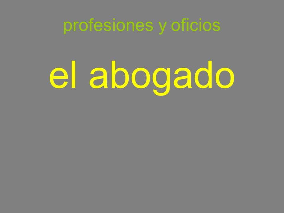 profesiones y oficios el abogado