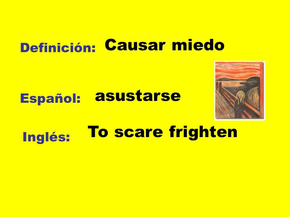 Definición: Español: Inglés: Seguir las órdenes obedecer To obey