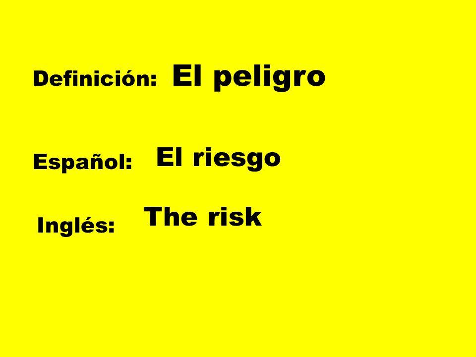 Definición: Español: Inglés: Entrar en el mundo nacer To be born