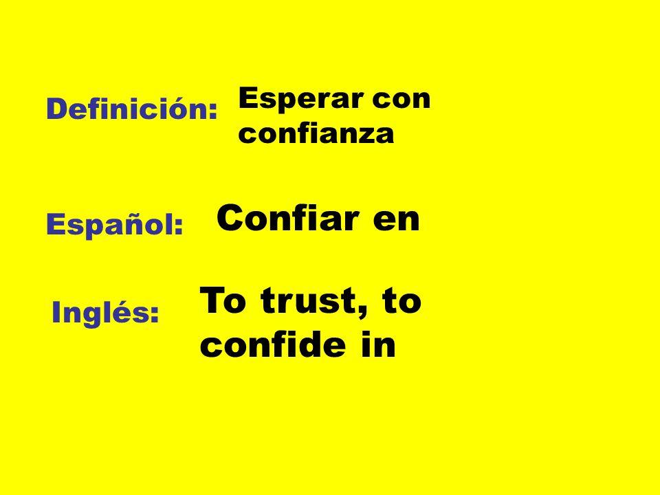 Definición: Español: Inglés: vindicta La venganza The revenge