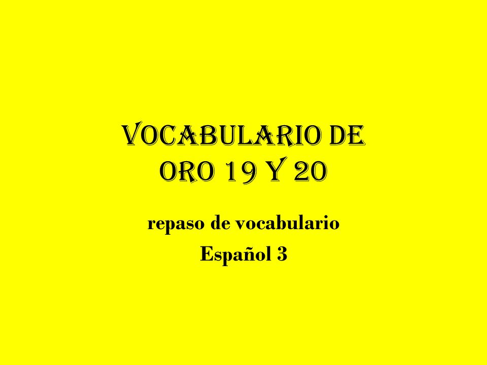 Definición: Español: Inglés: inclinarse agacharse To lean over