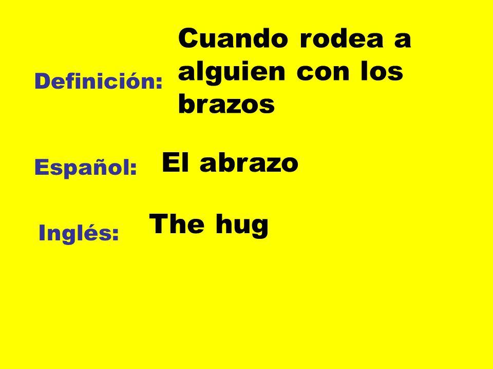 Definición: Español: Inglés: Ya no puede ver Perder de vista To lose sight of
