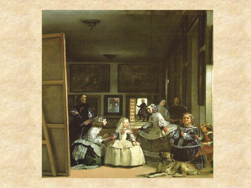 Las Meninas Obra maestra Sujetos reales y comunes Autorretrato Pintura enigmática con múltiples dimensiones ¿A quiénes pinta Velázquez.