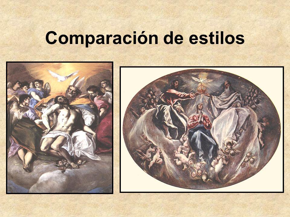 Comparación de estilos