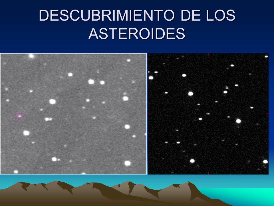 DESCUBRIMIENTO DE LOS ASTEROIDES