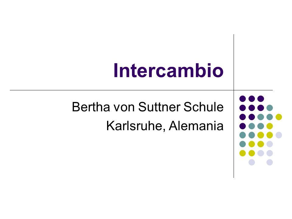 Intercambio Bertha von Suttner Schule Karlsruhe, Alemania