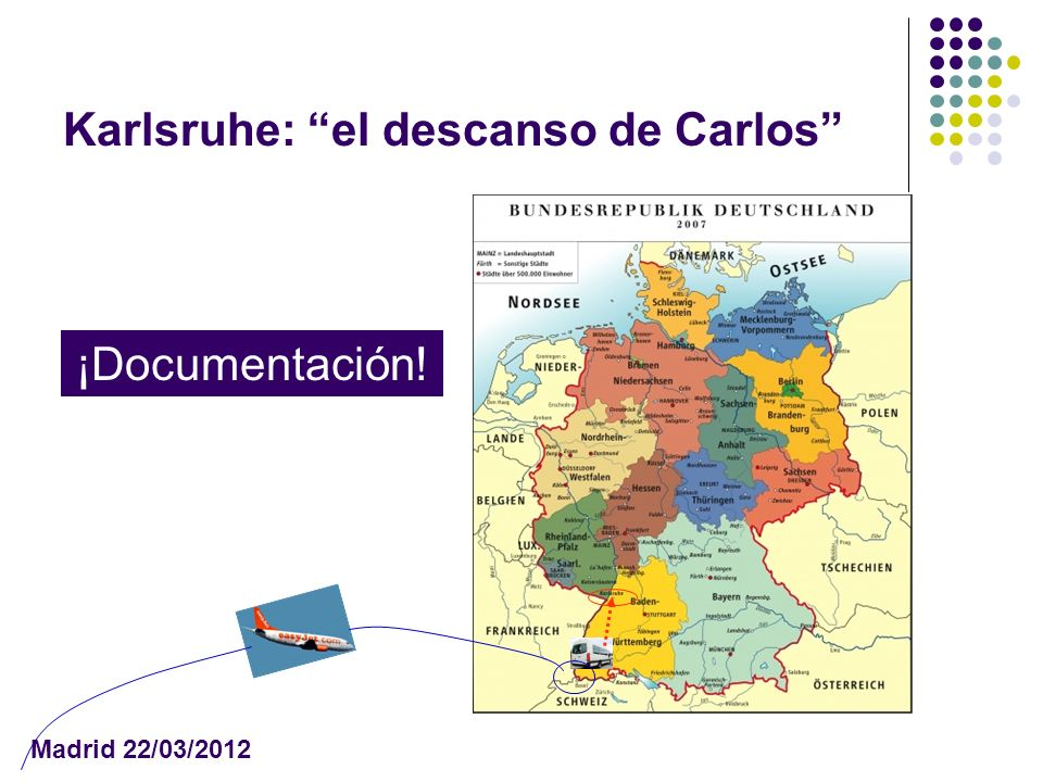 Karlsruhe: el descanso de Carlos Madrid 22/03/2012 ¡Documentación!